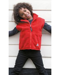 Fleece Bodywarmer Result Kinderen