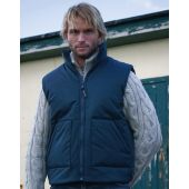 Gewatteerde Bodywarmer Fleece Lined Heren